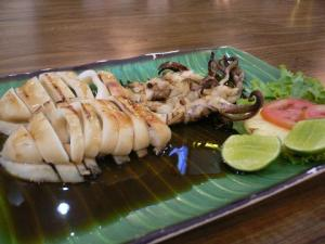 Grilled Sotong (I think so....)