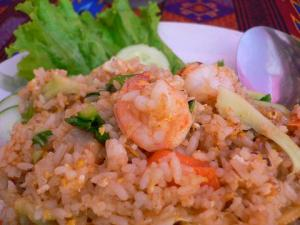 Lunch - Fried Rice:)
